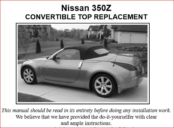 FOR NISSAN 350Z ROADSTER 05-10 FULLY WATERPROOF CAR COVER COTTON LINED HEAVYDUTY