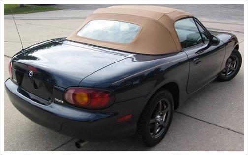 Miata convertible top