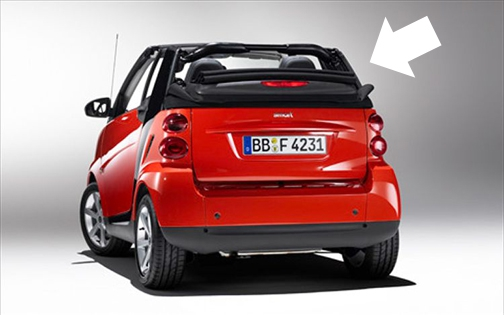 Smart Car 2008 On Convertible Top And Parts