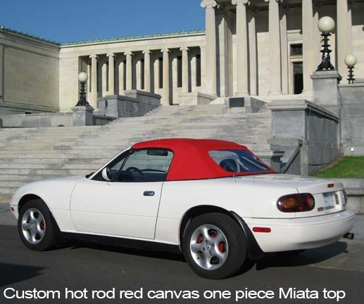 Mazda Miata Easy Install One Piece Convertible Tops 1989 97 Top And Parts