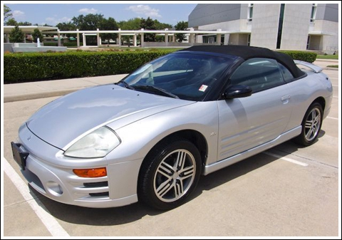 Mitsubishi Eclipse Spyder, 2000 2005. Convertible Top And Convertible Top  Parts. «