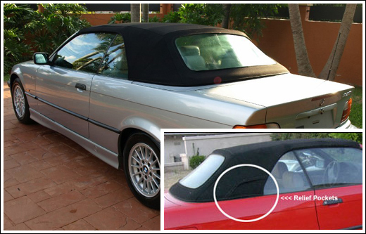 1994-99 BMW 3 Series Convertible Tops and Convertible Top Parts