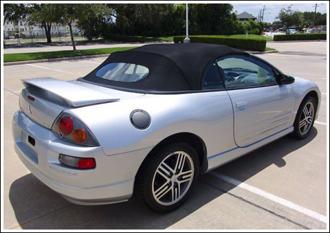 2000 2005 Mitsubishi Eclipse Spyder Convertible Tops and