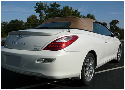 Used Mercedes Parts >> 2004-09 Toyota Solara Convertible Tops and Convertible Top ...