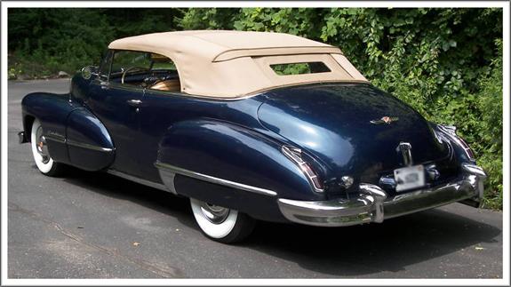1942 47 Cadillac All Convertible Tops And Convertible