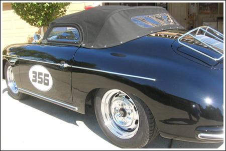 1955 56 Porsche 356a Speedster 13 Quot Bow Height Quot Low Bow