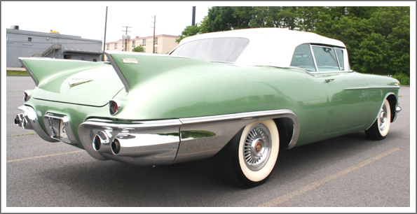 1957 58 Cadillac Eldorado Amp Series 62 Convertible Tops And