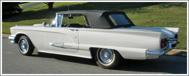 1958 60 Ford Thunderbird Convertible Tops And Convertible