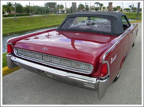 1961 63 lincoln continental convertible tops and. Black Bedroom Furniture Sets. Home Design Ideas
