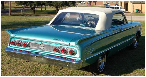 1963 65 Mercury Comet Convertible Tops And Convertible Top