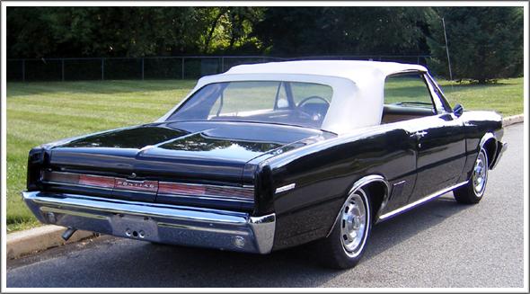 1964 65 Pontiac LeMans amp Tempest Convertible Tops and