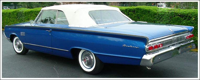 1964 mercury monterey  u0026 park lane convertible tops and