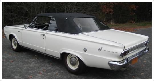 1965 1966 Dodge Dart Convertible Tops And Convertible Top