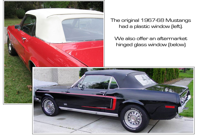1967 68 Ford Mustang Convertible Tops And Convertible Top