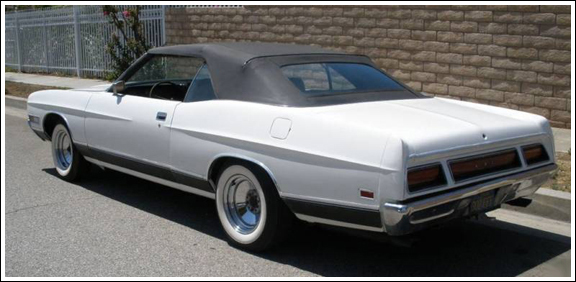 1971 72 Ford Ltd And Galaxie Convertible Tops And
