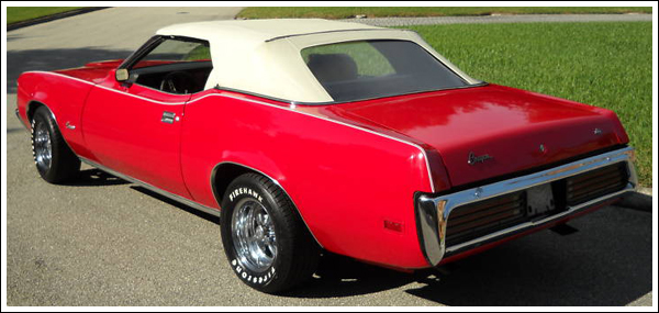 1971 73 Mercury Cougar Convertible Tops And Convertible
