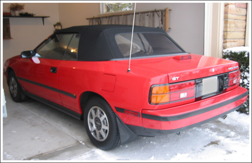 1987 90 Toyota Celica Asc Convertible Tops And