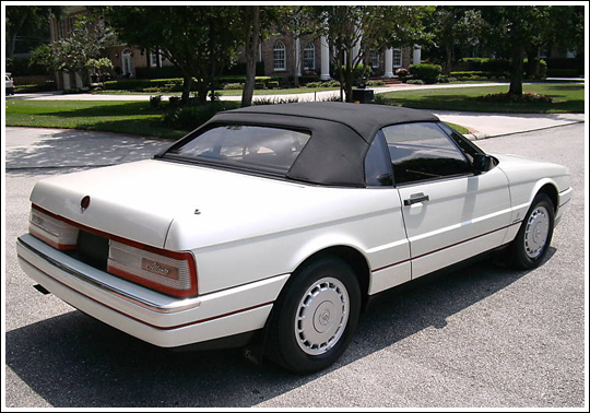 1987 93 cadillac allante convertible tops and convertible. Black Bedroom Furniture Sets. Home Design Ideas