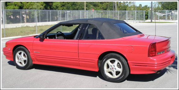1991 95 Oldsmobile Cutlass Convertible Tops And