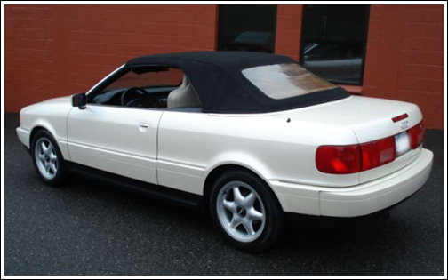 1992 2000 Audi Cabriolet And Cabrio 80 Convertible Tops