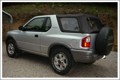 1998 2002 Isuzu Amigo Amp Rodeo Sport Convertible Tops And