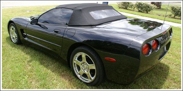 1998 04 Chevrolet Corvette Convertible Tops and