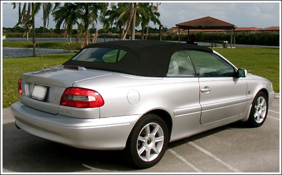 1998-06 Volvo C70 Convertible Tops and Convertible Top Parts