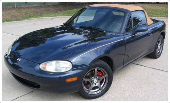 "Custom Miata Parts >> 1999-05 Mazda Miata and Miata MX-5 Shinsen, ""Easy Install"", One Piece Convertible Tops ..."