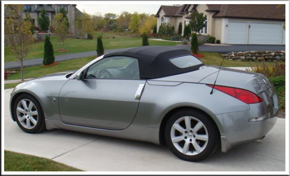 2004 2009 Nissan 350z Convertible Tops And Convertible Top