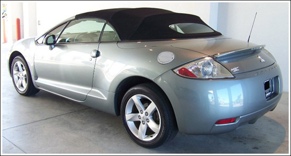 Mitsubishi Eclipse Spyder, 2006 2012. Convertible Top And Convertible Top  Parts