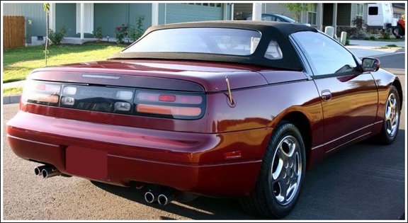Nissan 300zx 1993 96 Convertible Top And Parts