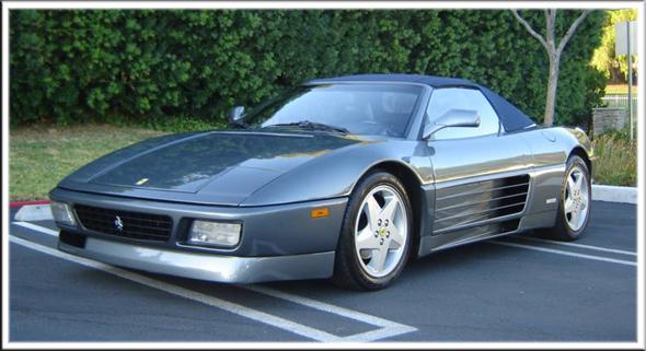 1993-95 Ferrari 348 Spider Convertible Tops and Convertible Top Parts
