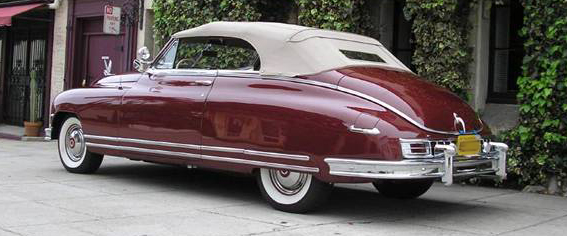 1948 50 Packard Super 8 Amp Custom 8 Convertible Tops And