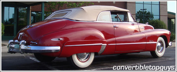 1949 Buick Roadmaster Amp Super Convertible Tops And