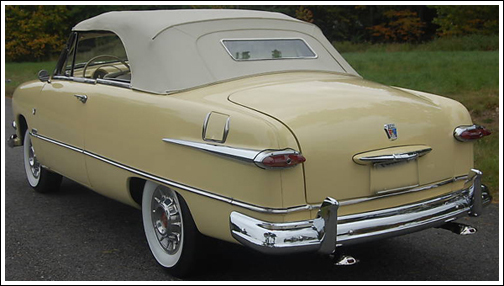 Ford Custom Coupe 1951 Convertible Top And Parts