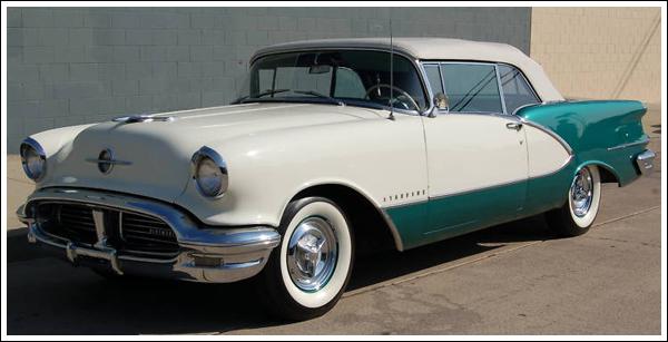 1954 56 Oldsmobile 88 98 Super 88 Starfire Convertible