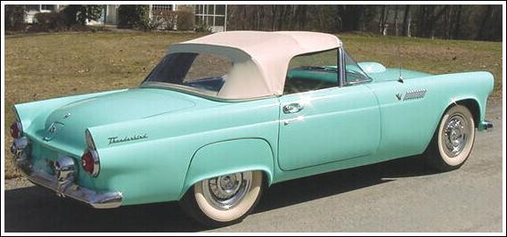 1955-57 Ford Thunderbird Convertible Tops and Convertible ...