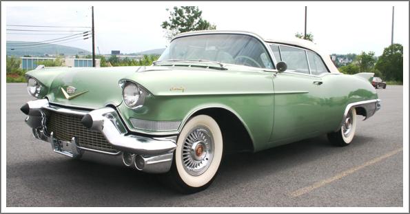 1957 58 Cadillac Eldorado Amp Series 62 Convertible Tops And