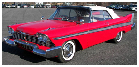 1957 58 Plymouth Fury Sports Fury Amp Belevedere