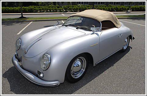 1957 58 Porsche 356a Speedster High Bow Convertible Tops