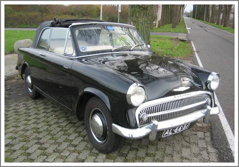 1957 59 Hillman Minx Convertible Tops And Convertible Top Parts