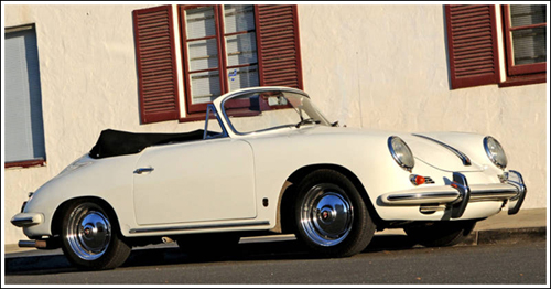 1958-62 Porsche 356B T2-T5 Cabriolet Convertible Tops and ...