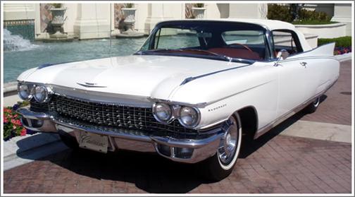 1959-60 Cadillac Eldorado & Series 62 Convertible Tops and ...