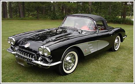 Chevrolet Corvette 1959 Convertible Top And Parts