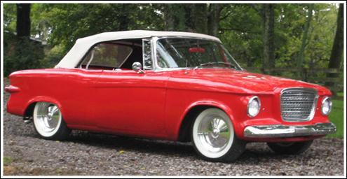 1960 62 Studebaker Lark Amp Regal Convertible Tops And