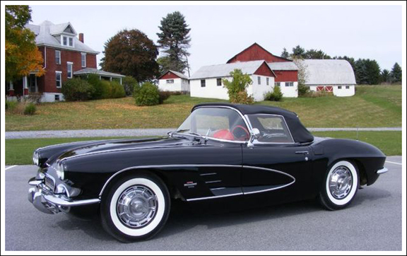 1961 62 Chevrolet Corvette Convertible Tops And