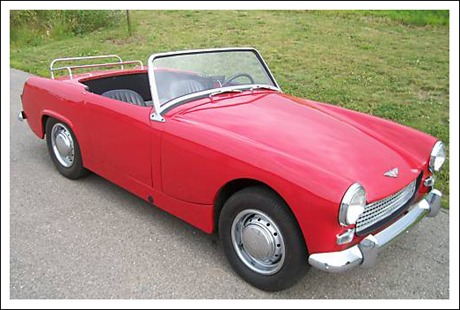1961 64 Austin Healey Sprite Mark Ii Convertible Tops And