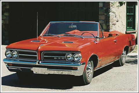 1962 63 Pontiac Gto Convertible Tops And Convertible Top Parts