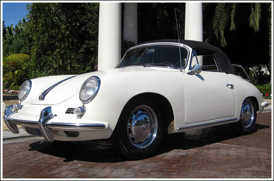 1962-65 Porsche 356B, 356C Cabriolet Convertible Tops and ...