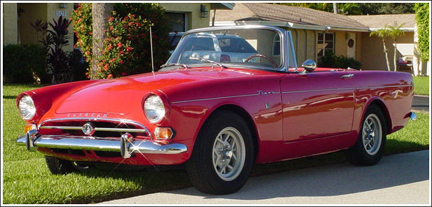 1963 65 Sunbeam Alpine Mark Iii Amp Iv Convertible Tops And